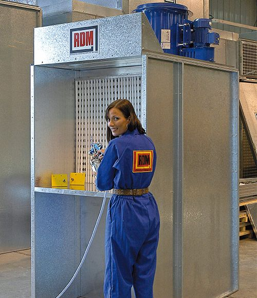 RDM Engineering Bench Type Dryfilter Spray Booth