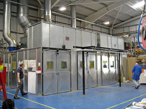 RDM Engineering Enclosed Spray Rooms
