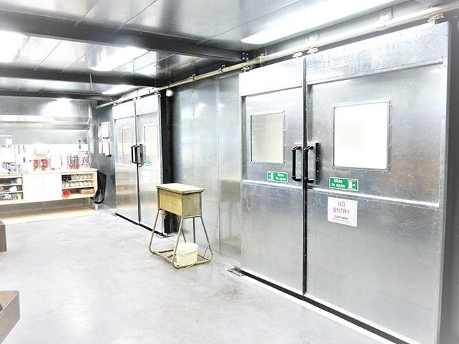 Enclosed Spray Room Dryer