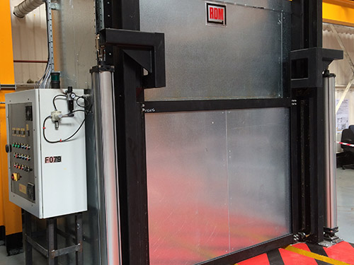 Industrial Oven power door option