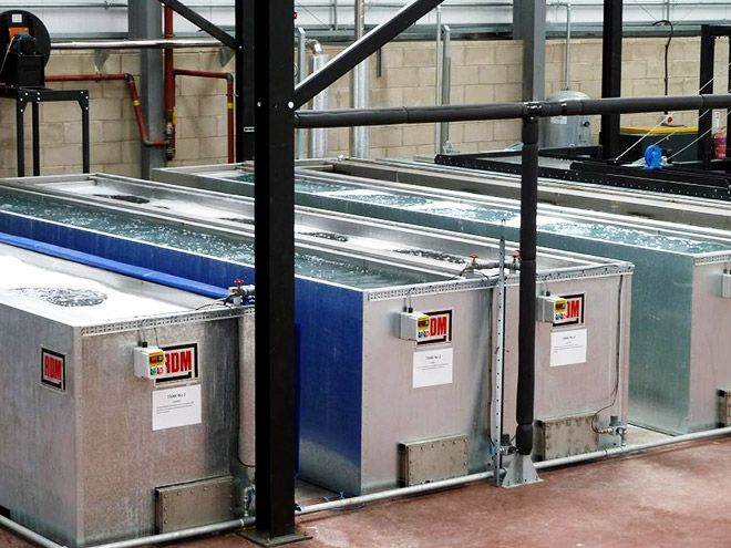 RDM Engineering Dip Tank Pre-Treatment Cleaning Plant