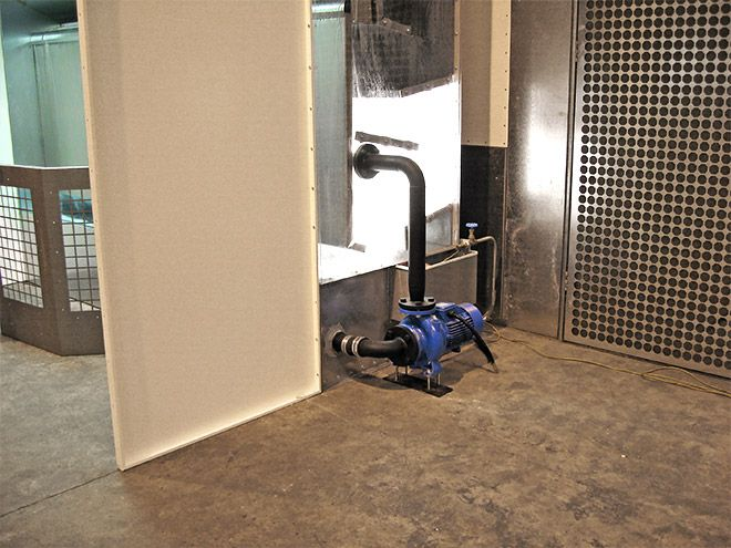 RDM Engineering Waterwash Spray Booths