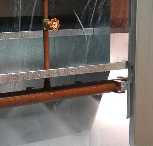 RDM Engineering Water Wash Waste Water System